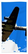 Flying Fortress Beach Towel