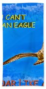 Flying Gull Beach Towel