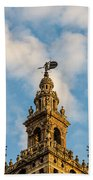 Flying Into The Clouds Beach Towel