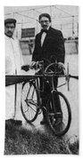 Flying Machine, 1912 Beach Towel