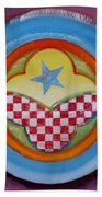 Flying Star Beach Towel