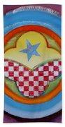 Flying Star Beach Towel