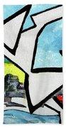 Flyinggurleee Beach Towel