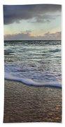 Foam Sunset Beach Towel