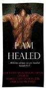 Fofmi Anointed Healing Tshirt Beach Towel