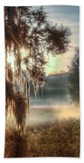 Foggy Dreamworld 2 Beach Towel