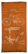 Folding Bycycle Patent Drawing 1g Beach Towel