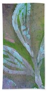 Foliage 1 Beach Towel
