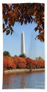 Foliage Potomac Beach Towel