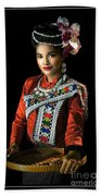 Folk Dancer Of The North East Beach Sheet