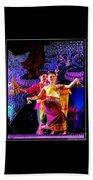 Folk Dancing Of Isaan Beach Towel