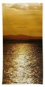 Follow The Gold Beach Towel