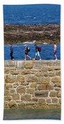 Follow The Yellow Brick Road Beach Towel