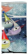 Following The Stars Beach Towel