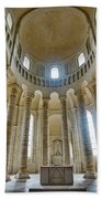 Fontevraud Abbey Chapel, Loire, France Beach Towel