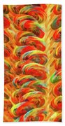 Food - Candy - Lollipops Beach Towel