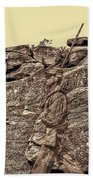 For Ever Watch At Devils Den Beach Towel by Tommy Anderson
