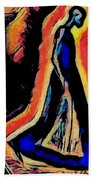 For I Walk Alone Beach Towel