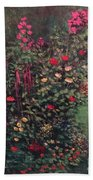 For The Love Of Flowers Beach Towel