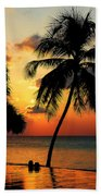 For You. Dream Comes True. Maldives Beach Towel by Jenny Rainbow