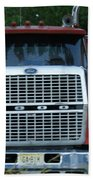 Ford 9000 Power And Confort... Beach Towel