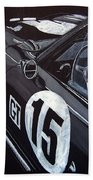 Ford Cobra Racing Coupe Beach Towel
