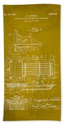 Ford Engine Lubricant Cooling Attachment Patent Drawing 1d Beach Towel