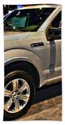 Ford F150 Fx4 Platinum Beach Towel