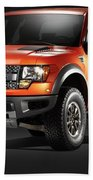 Ford F150 Svt Raptor Beach Towel