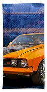 Ford Falcon Xb 351 Gt Coupe Beach Towel