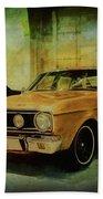 Ford Falcon Xt Gt Beach Towel