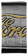 Ford Made In The Usa Beach Towel