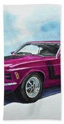 Ford Mustang Boss 302 Beach Towel