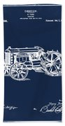 Ford Tractor Patent 1919 Beach Towel