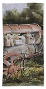 Fordson Model F Beach Towel
