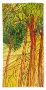 Forest #15 Beach Towel