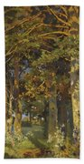 Forest Clearing Beach Towel