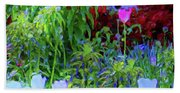 Forest Flowers Different One Beach Towel