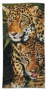 Forest Jewels Beach Towel