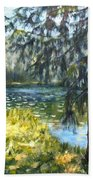 Forest Lake Beach Towel