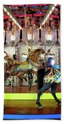 Forest Park Carousel Beach Towel