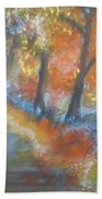 Forest Path.... Beach Towel