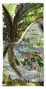 Forest Pond Beach Towel