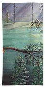 Forest Serenade Beach Towel