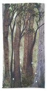 Forest Spring Beach Towel