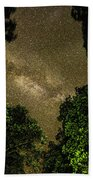 Forest Star Patch Beach Towel