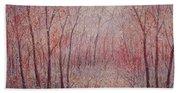 Forest Stillness. Beach Towel