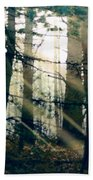 Forest Sunrise Beach Towel