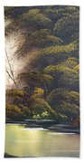 Forest Tranquility  Beach Towel