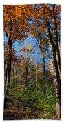 Forest Veteran Beach Towel